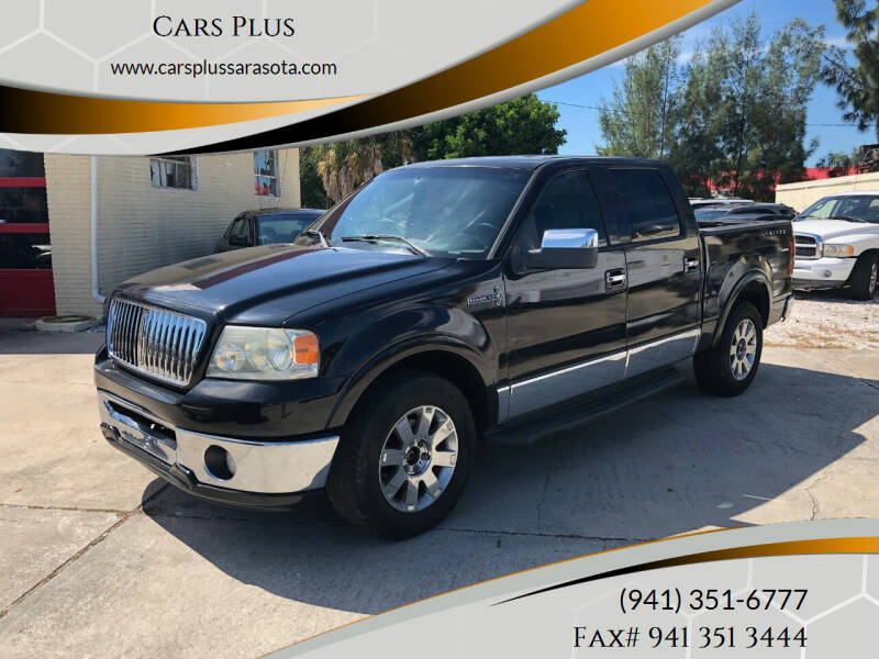 2006 Lincoln Mark LT for sale at Cars Plus in Sarasota FL