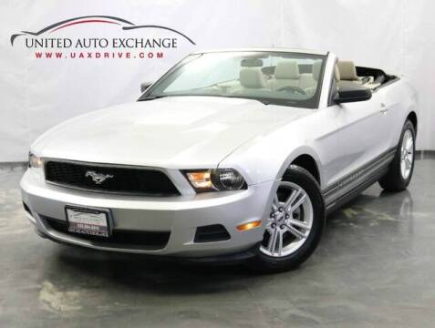 2011 Ford Mustang for sale at United Auto Exchange in Addison IL