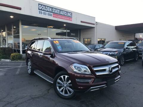 2014 Mercedes-Benz GL-Class for sale at Golden State Auto Inc. in Rancho Cordova CA