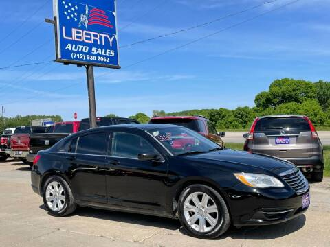 2011 Chrysler 200 for sale at Liberty Auto Sales in Merrill IA