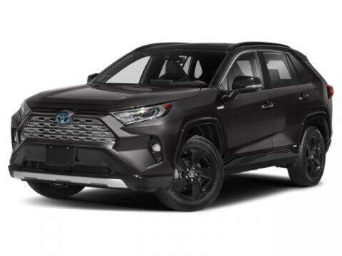 2020 Toyota RAV4 Hybrid for sale at HILAND TOYOTA in Moline IL