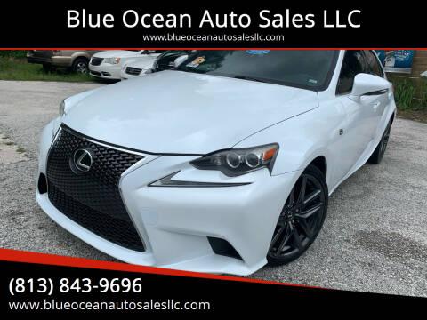 2014 Lexus IS 250 for sale at Blue Ocean Auto Sales LLC in Tampa FL