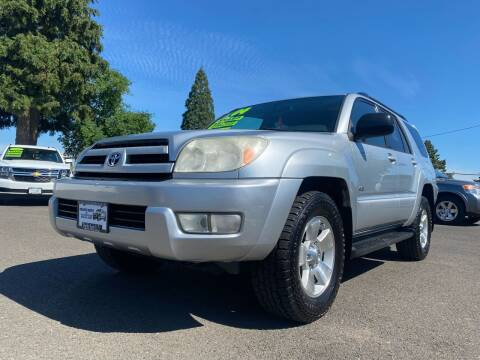 2004 Toyota 4Runner for sale at Pacific Auto LLC in Woodburn OR