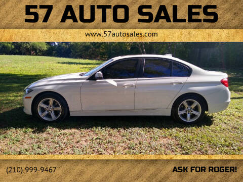 2013 BMW 3 Series for sale at 57 Auto Sales in San Antonio TX