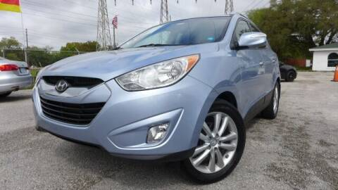 2013 Hyundai Tucson for sale at Das Autohaus Quality Used Cars in Clearwater FL