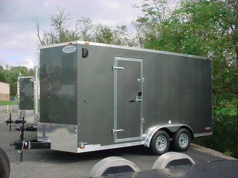 """2022 Forest River VHW7.5x16 +18"""" Extra Height for sale at S. A. Y. Trailers in Loyalhanna PA"""