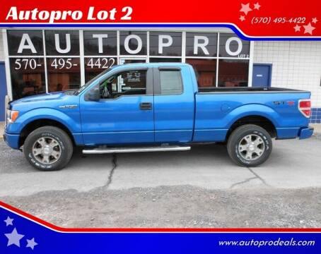 2010 Ford F-150 for sale at Autopro Lot 2 in Sunbury PA