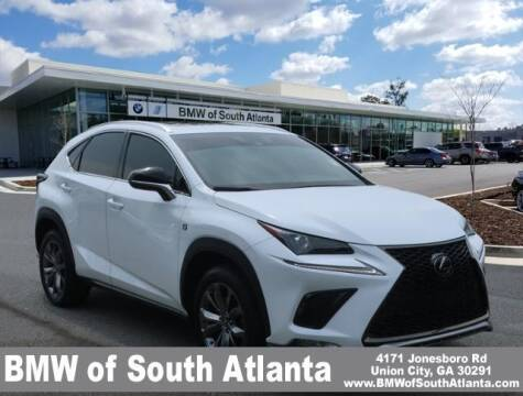 2020 Lexus NX 300 for sale at Carol Benner @ BMW of South Atlanta in Union City GA