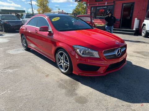 2014 Mercedes-Benz CLA for sale at Mass Auto Exchange in Framingham MA