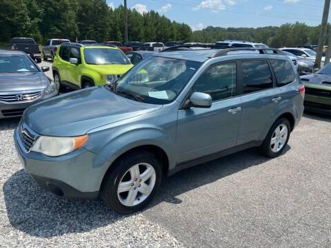 2010 Subaru Forester for sale at Billy Ballew Motorsports in Dawsonville GA