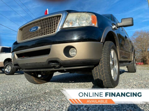 2006 Ford F-150 for sale at Prime One Inc in Walkertown NC