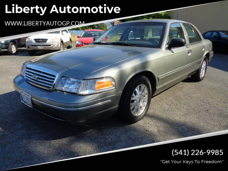 2003 Ford Crown Victoria for sale at Liberty Automotive in Grants Pass OR