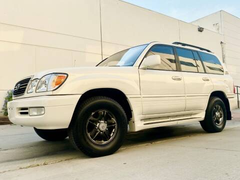 2002 Lexus LX 470 for sale at New City Auto - Retail Inventory in South El Monte CA