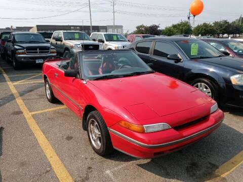 1991 Mercury Capri for sale at Tower Motors in Brainerd MN