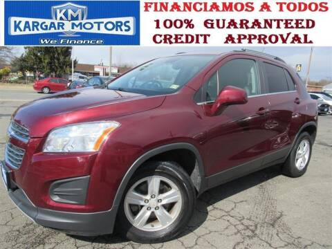 2016 Chevrolet Trax for sale at Kargar Motors of Manassas in Manassas VA
