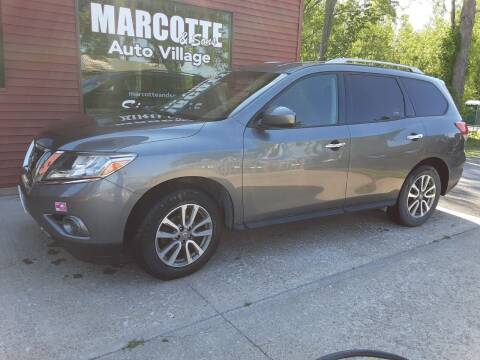 2016 Nissan Pathfinder for sale at Marcotte & Sons Auto Village in North Ferrisburgh VT