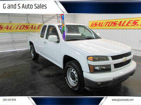 2012 Chevrolet Colorado for sale at G and S Auto Sales in Ardmore TN
