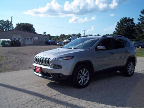 2017 Jeep Cherokee for sale at SHULLSBURG AUTO in Shullsburg WI