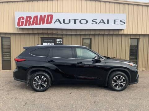 2020 Toyota Highlander for sale at GRAND AUTO SALES in Grand Island NE