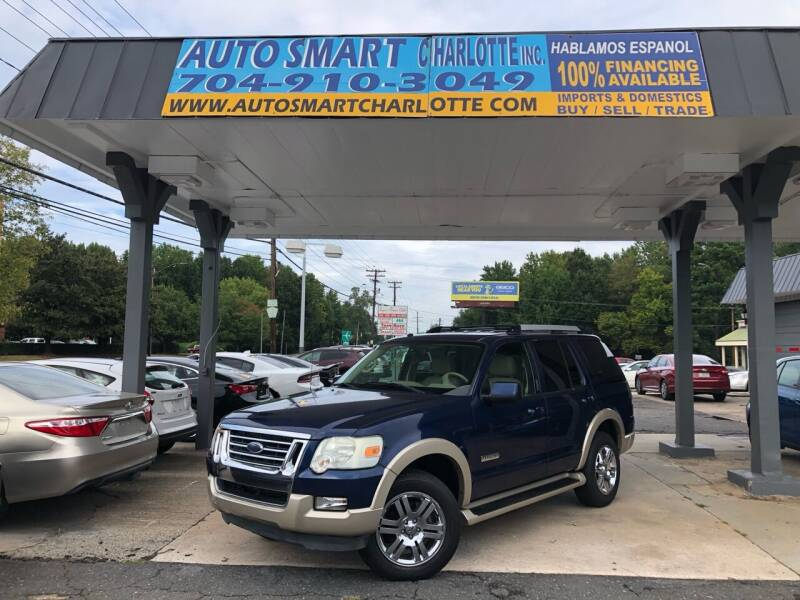 2007 Ford Explorer for sale at Auto Smart Charlotte in Charlotte NC