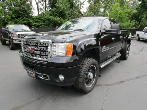 2013 GMC Sierra 2500HD for sale at LULAY'S CAR CONNECTION in Salem OR