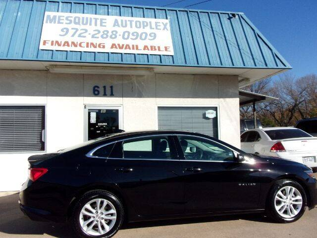 2018 Chevrolet Malibu for sale at MESQUITE AUTOPLEX in Mesquite TX