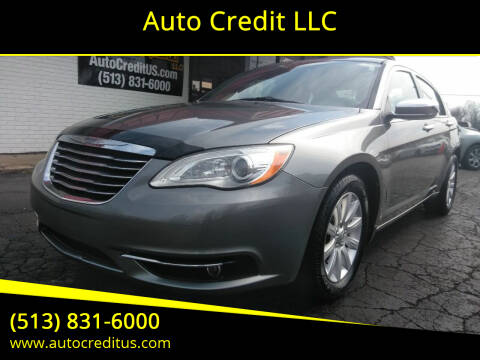 2013 Chrysler 200 for sale at Auto Credit LLC in Milford OH