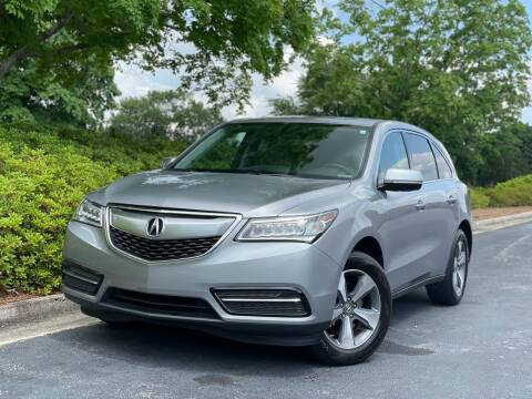2016 Acura MDX for sale at William D Auto Sales in Norcross GA