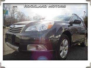 2012 Subaru Outback for sale at Rockland Automall - Rockland Motors in West Nyack NY