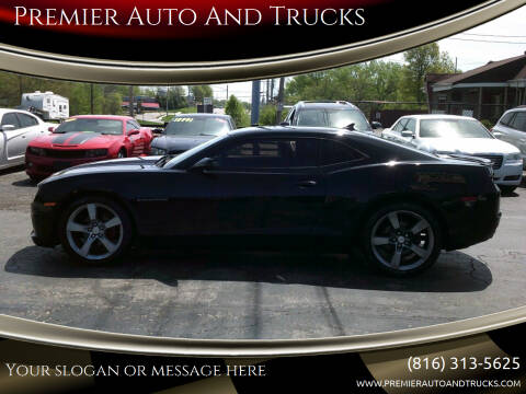 2011 Chevrolet Camaro for sale at Premier Auto And Trucks in Independence MO