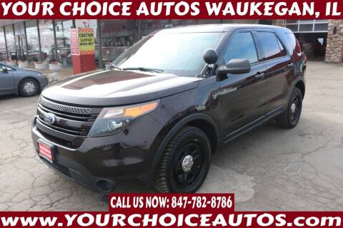2015 Ford Explorer for sale at Your Choice Autos - Waukegan in Waukegan IL