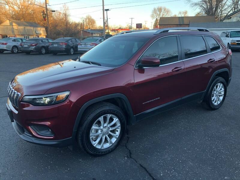 2019 Jeep Cherokee for sale at Teds Auto Inc in Marshall MO