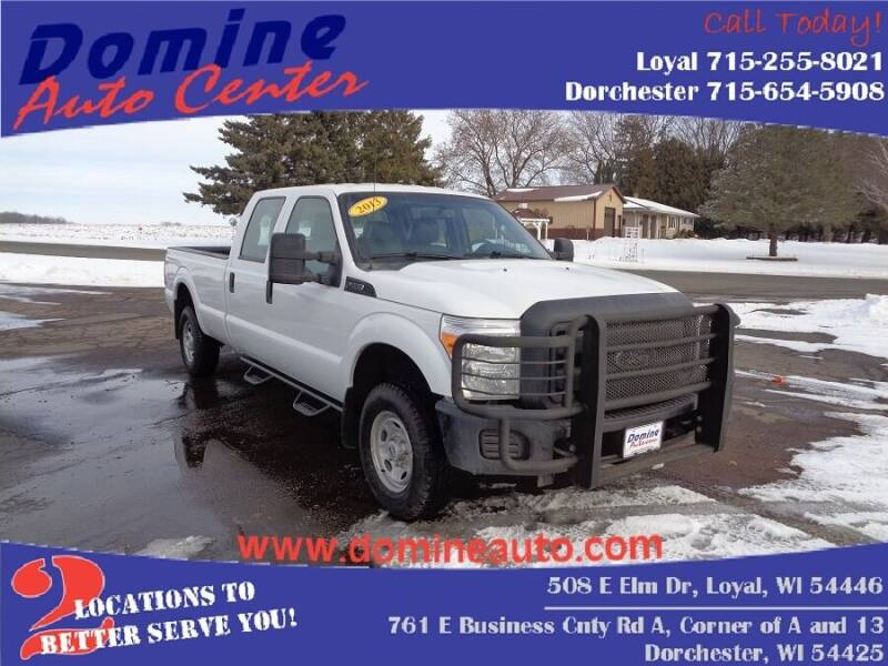 2013 Ford F-250 Super Duty for sale at Domine Auto Center - commercial vehicles in Loyal WI
