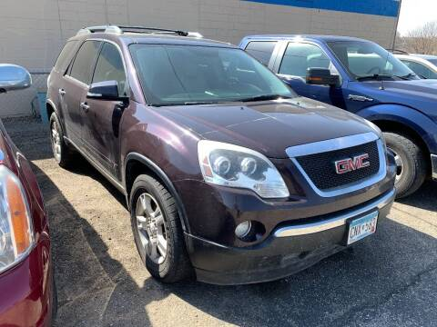 2009 GMC Acadia for sale at BEAR CREEK AUTO SALES in Rochester MN
