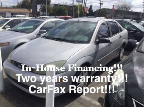 2004 Ford Focus for sale at Sidney Auto Sales in Downey CA