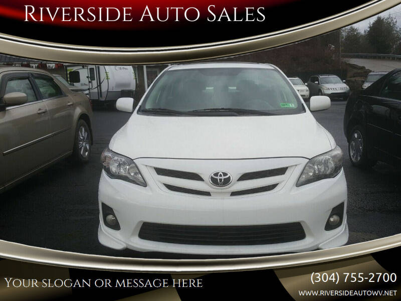 2011 Toyota Corolla for sale at Riverside Auto Sales in Saint Albans WV