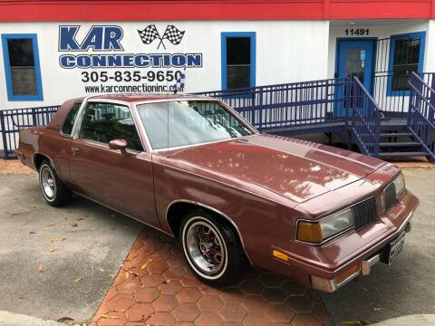 1988 Oldsmobile Cutlass Supreme for sale at Kar Connection in Miami FL