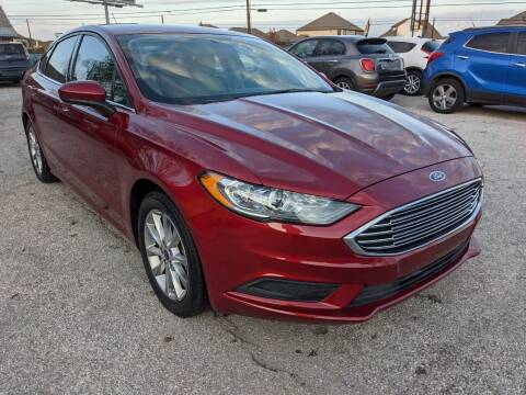 2017 Ford Fusion for sale at PREMIER MOTORS OF PEARLAND in Pearland TX
