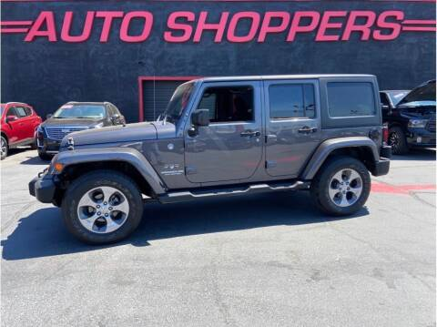 2016 Jeep Wrangler Unlimited for sale at AUTO SHOPPERS LLC in Yakima WA