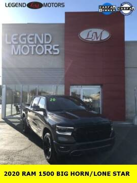2020 RAM Ram Pickup 1500 for sale at Legend Motors of Ferndale in Ferndale MI