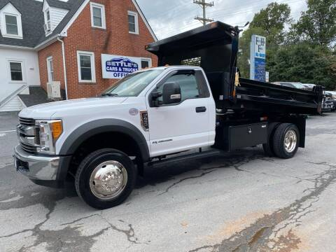 2017 Ford F-450 Super Duty for sale at SETTLE'S CARS & TRUCKS in Flint Hill VA