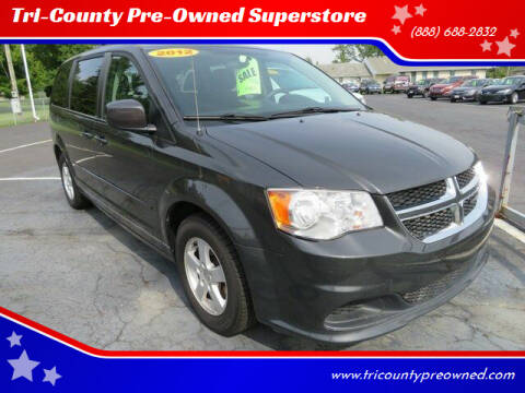 2017 Dodge Grand Caravan for sale at Tri-County Pre-Owned Superstore in Reynoldsburg OH