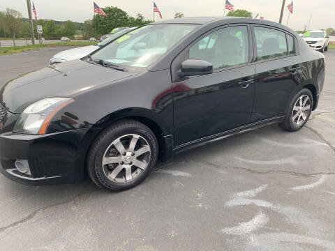 2012 Nissan Sentra for sale at Doug White's Auto Wholesale Mart in Newton NC