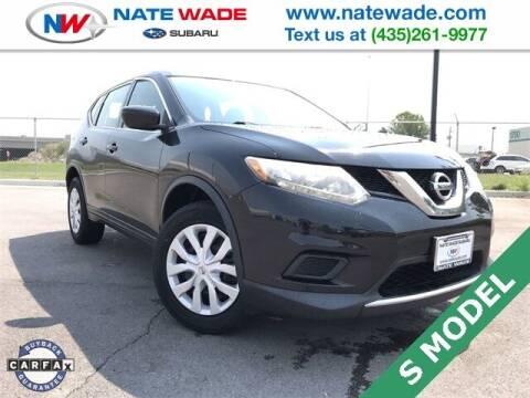 2016 Nissan Rogue for sale at NATE WADE SUBARU in Salt Lake City UT