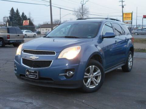 2011 Chevrolet Equinox for sale at MT MORRIS AUTO SALES INC in Mount Morris MI