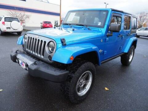 2014 Jeep Wrangler Unlimited for sale at Karmart in Burlington WA