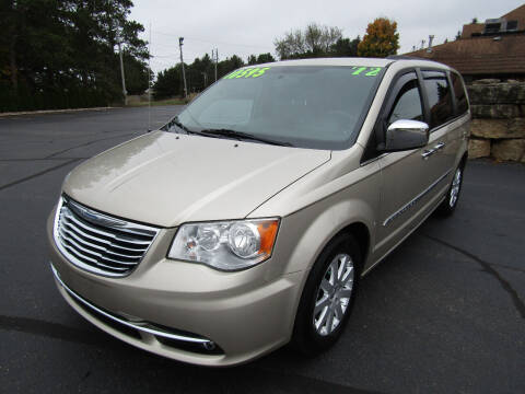 2012 Chrysler Town and Country for sale at Mike Federwitz Autosports, Inc. in Wisconsin Rapids WI