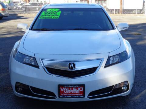 2013 Acura TL for sale at Vallejo Motors in Vallejo CA