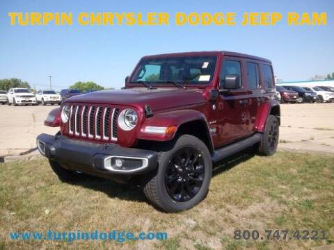 2021 Jeep Wrangler Unlimited for sale at Turpin Dodge Chrysler Jeep Ram in Dubuque IA