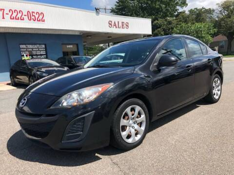 2011 Mazda MAZDA3 for sale at Trimax Auto Group in Norfolk VA